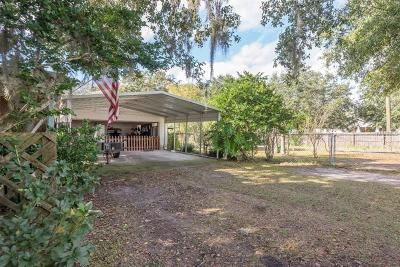 Plant City Single Family Home For Sale: 4107 Hawkins Road