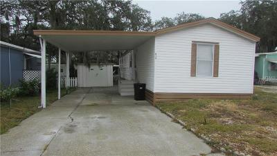 Tarpon Springs Mobile/Manufactured For Sale: 813 Frances Drive