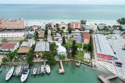 Treasure Island Commercial For Sale: 8541 W Gulf Boulevard