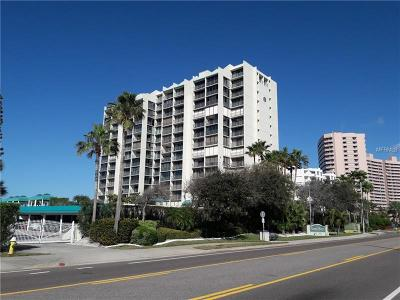 Clearwater Beach Condo For Sale: 1380 Gulf Boulevard #908