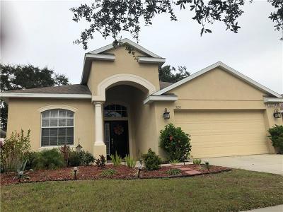 Apollo Beach Single Family Home For Sale: 5333 Clover Mist Drive