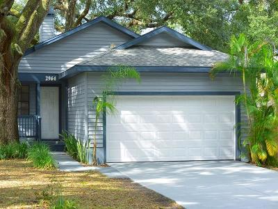 Safety Harbor Single Family Home For Sale: 2964 Bay View Drive