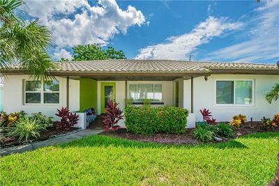 Saint Pete Beach, St Pete Beach Single Family Home For Sale: 138 58 Avenue