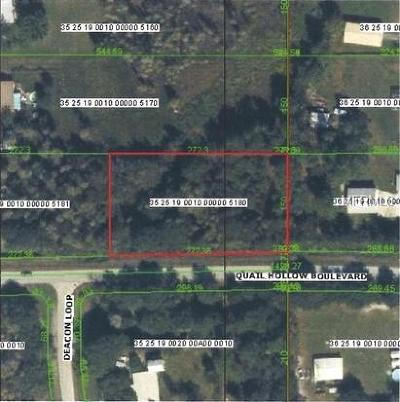 Lutz Residential Lots & Land For Sale: Quail Hollow Drive