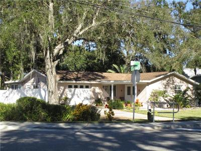 Tarpon Springs Single Family Home For Sale: 608 Meres Boulevard