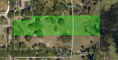 Hernando County, Hillsborough County, Pasco County, Pinellas County Residential Lots & Land For Sale: 1st Street E