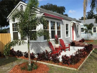 Gulfport Single Family Home For Sale: 2407 Beach Boulevard S