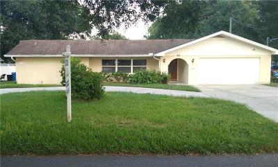 Tampa Single Family Home For Sale: 8311 N Gomez Avenue #A