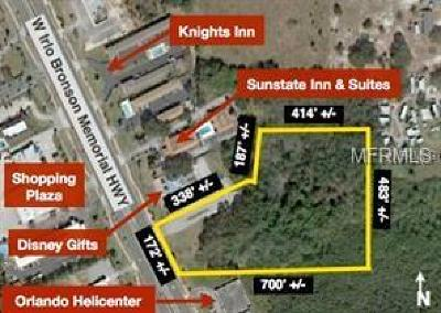 Kissimmee Residential Lots & Land For Sale: W Irlo Bronson Mem Highway