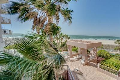 Clearwater Beach Condo For Sale: 1340 Gulf Boulevard #3A