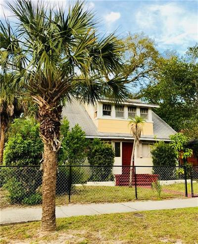 St Petersburg Single Family Home For Sale: 1145 Newton Avenue S