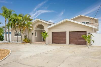 St Pete Beach Single Family Home For Sale: 2822 W Vina Del Mar Boulevard