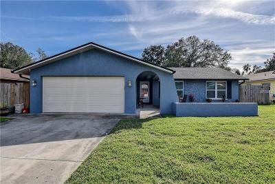 Tarpon Springs Single Family Home For Sale: 1409 Garden Avenue