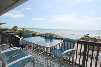 Indian Rocks Beach Condo For Sale: 614 Gulf Boulevard #103