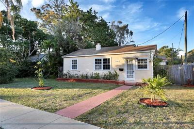 St Pete Beach, St Petersburg Beach, St Petersburg, St. Petersburg, Saint Pete Beach, Saint Petersburg Single Family Home For Sale: 2143 6th Avenue N