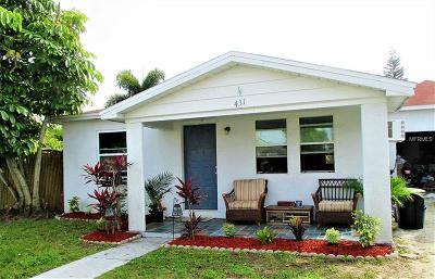 Madeira Beach, Madiera Beach Single Family Home For Sale: 431 Virginia Avenue