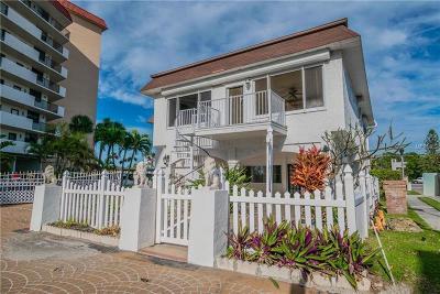 Redington Shores Single Family Home For Sale: 18301 Sunset Boulevard