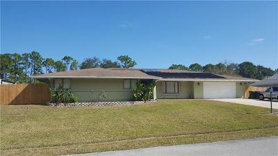 Palm Bay Single Family Home For Sale: 833 NEvada Drive NE