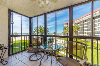 Redington Beach, Redington Shores Condo For Sale: 18304 Gulf Boulevard #212