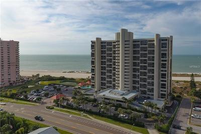 Clearwater Beach Condo For Sale: 1290 Gulf Boulevard #805