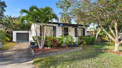 Treasure Island, St Pete Beach Single Family Home For Sale: 545 78th Avenue