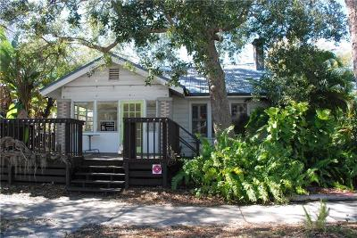 Gulfport Single Family Home For Auction: 3007 Beach Boulevard S