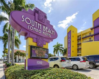 Clearwater Beach, Indian Rocks Beach, Indian Shores, Redington Beach, Redington Shores, Madeira Beach, Treasure Island, Tierra Verde, Belleair Beach, St. Pete Beach, Treasure Island  Condo For Sale: 11360 Gulf Boulevard #304