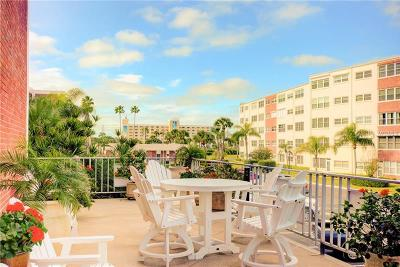 St Pete Beach Condo For Sale: 5555 Gulf Boulevard #203