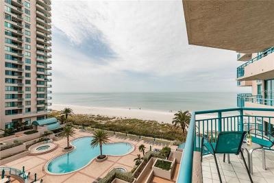 Hernando County, Hillsborough County, Pasco County, Pinellas County Condo For Sale: 1520 Gulf Boulevard #605