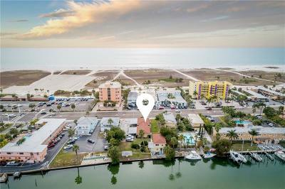 Treasure Island Multi Family Home For Sale: 11295 Gulf Boulevard