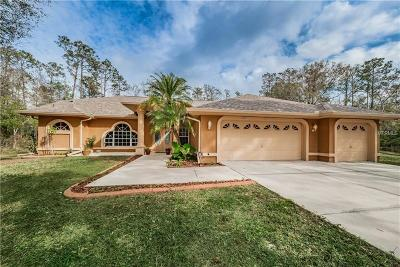 Tarpon Springs Single Family Home For Sale: 339 Ranch Road
