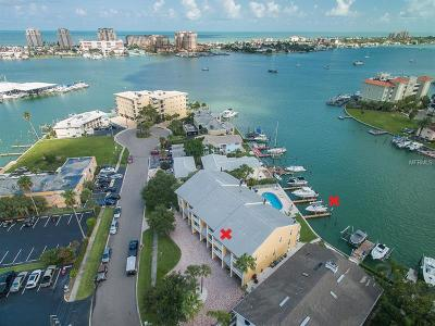 Clearwater Beach Townhouse For Sale: 234 Dolphin Point #2