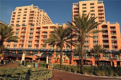 Clearwater Beach Condo For Sale: 301 S Gulfview Boulevard #809