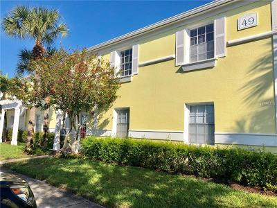 Saint Petersburg, St Petersburg Condo For Sale: 5008 Starfish Drive SE #F