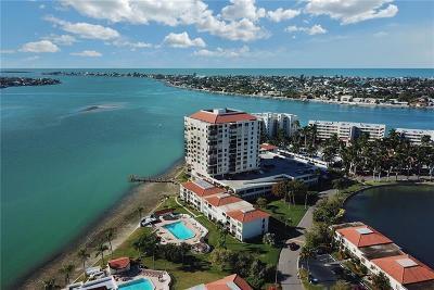 St Petersburg Condo For Sale: 6287 Bahia Del Mar Circle #605