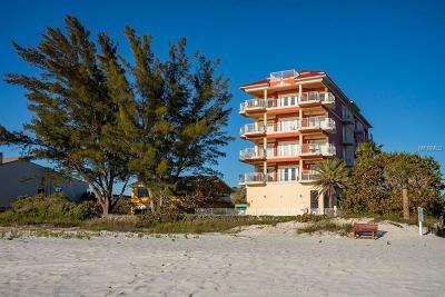 Indian Rocks Beach, Indian Shores Condo For Sale: 19000 Gulf Boulevard #1