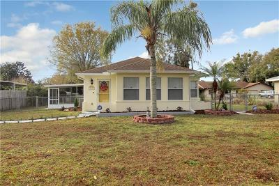 Clearwater Single Family Home For Sale: 3137 Drew Street