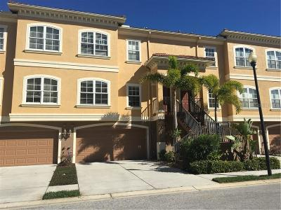 New Port Richey Townhouse For Sale: 6522 Sand Shore Lane