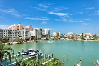 Clearwater Beach Townhouse For Sale: 130 Brightwater Drive #2