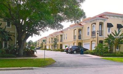 Tampa Townhouse For Sale: 3411 Sondrio Circle