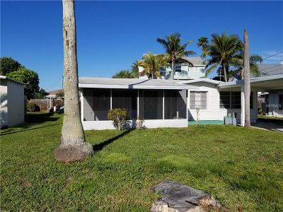 Indian Rocks Beach Single Family Home For Sale: 378 12th Avenue