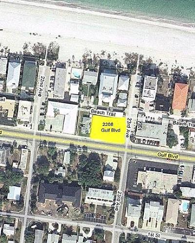 Pinellas County Residential Lots & Land For Sale: 2208 Gulf Boulevard