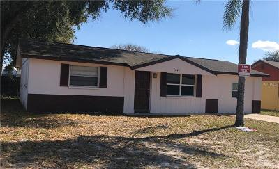 New Port Richey Single Family Home For Sale: 5242 Madison Street