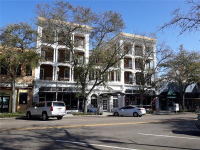 St Petersburg, Clearwater Commercial For Sale: 535 Central Avenue #405