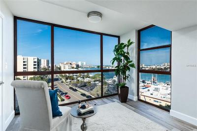 St Petersburg, Clearwater Condo For Sale: 851 Bayway Boulevard #707