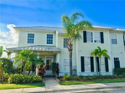 Apollo Beach Townhouse For Sale: 5534 Luminar Pointe Lane