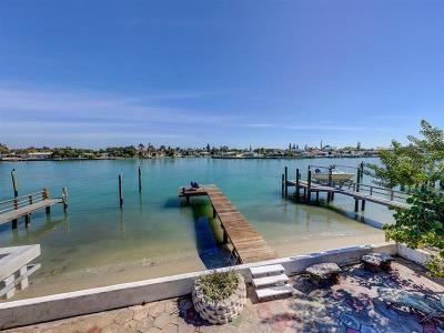 Treasure Island Single Family Home For Sale: 8121 Bayshore Drive