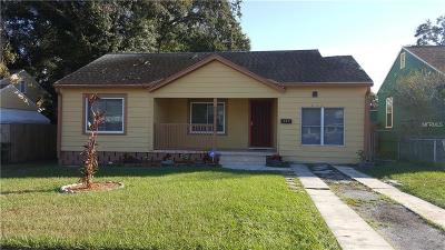 St Petersburg, Clearwater Single Family Home For Sale: 820 16th Avenue S