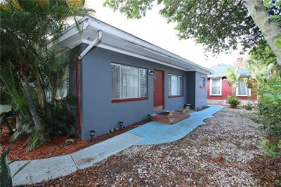 St Petersburg Single Family Home For Sale: 724 7th Street N