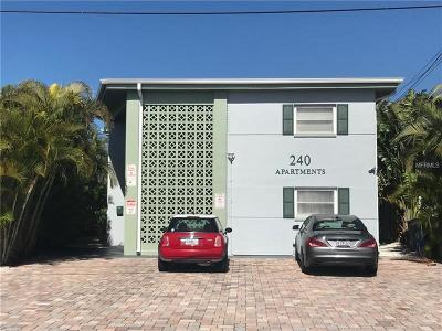Treasure Island FL Multi Family Home For Sale: $789,500
